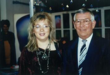 Mágocsi Oszkár és Eva Groenke 1997-ben